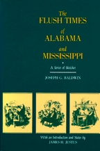 The Flush Times of Alabama and Mississippi - Cover