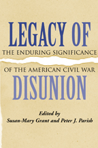 Legacy of Disunion - Cover