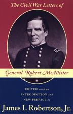 The Civil War Letters of General Robert McAllister - Cover