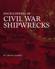 Encyclopedia of Civil War Shipwrecks - Cover