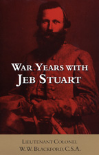 War Years with Jeb Stuart - Cover