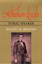 Abraham Lincoln, Public Speaker - Cover