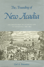 The Founding of New Acadia - Cover