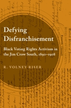 Defying Disfranchisement - Cover