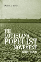 The Louisiana Populist Movement, 1881-1900 - Cover
