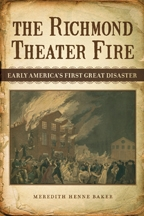 The Richmond Theater Fire - Cover