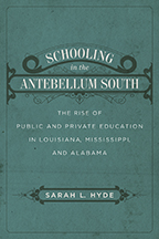 Schooling in the Antebellum South - Cover