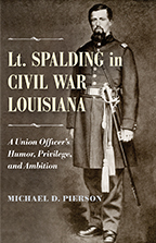 Lt. Spalding in Civil War Louisiana - Cover