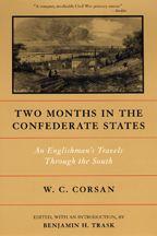 Two Months in the Confederate States - Cover