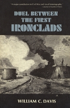 Duel Between the First Ironclads - Cover