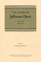 The Papers of Jefferson Davis - Cover