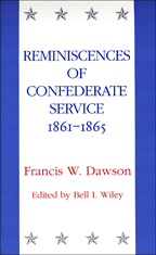 Reminiscences of Confederate Service, 1861-1865 - Cover