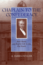 Chaplain to the Confederacy - Cover