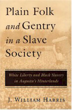 Plain Folk and Gentry in a Slave Society - Cover