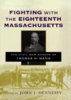 Fighting with the Eighteenth Massachusetts - Cover