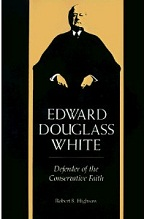 Edward Douglass White - Cover