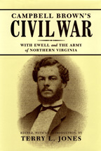 Campbell Brown's Civil War - Cover