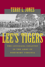 Lee's Tigers - Cover