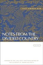 Notes from the Divided Country - Cover