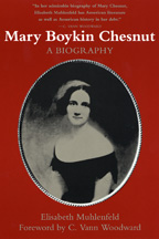Mary Boykin Chesnut - Cover