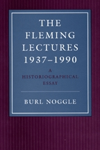The Fleming Lectures, 1937-1990 - Cover