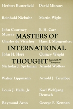 Masters of International Thought - Cover