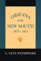 Origins of the New South, 1877-1913 - Cover